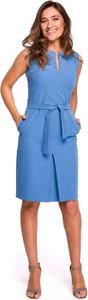 Sukienka Style midi z tkaniny
