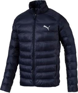 Granatowa kurtka Puma w sportowym stylu