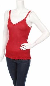 Czerwony sweter Akep w stylu casual