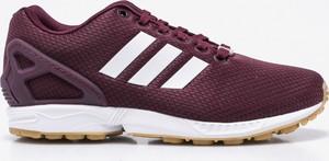 Czerwone buty sportowe Adidas Originals zx flux