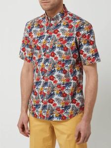 Koszula Fynch Hatton z krótkim rękawem w młodzieżowym stylu