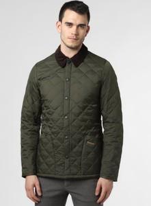 Zielona kurtka Barbour w stylu casual krótka