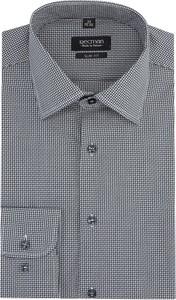 Koszula Recman w stylu casual z długim rękawem z klasycznym kołnierzykiem