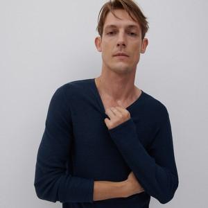 Sweter Reserved w stylu casual z bawełny