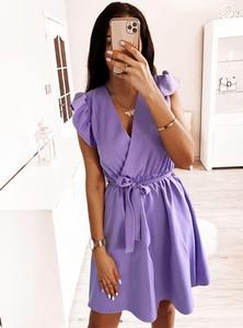 Sukienka Pakuten z krótkim rękawem