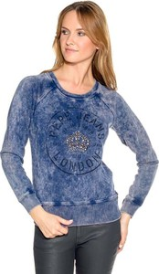 Niebieska bluza Pepe Jeans w młodzieżowym stylu
