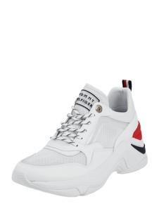Buty sportowe Tommy Hilfiger sznurowane ze skóry