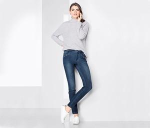 Niebieskie jeansy Tchibo