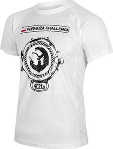 T-shirt Formoza Challenge z tkaniny z krótkim rękawem
