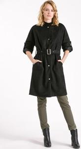 Czarny płaszcz Monnari w stylu casual