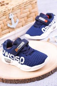 Granatowe buty sportowe dziecięce Casu