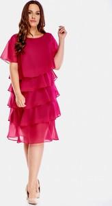 Sukienka La-toya z szyfonu