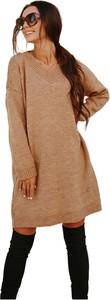 Sukienka Lemoniade mini z długim rękawem w stylu casual