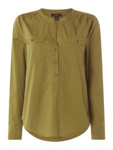 Zielona bluzka J Crew z bawełny w stylu casual