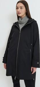 Czarna kurtka Mohito w stylu casual długa