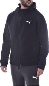 Czarna bluza Puma w sportowym stylu z polaru