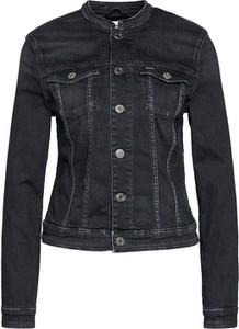 Czarna kurtka Tommy Jeans krótka