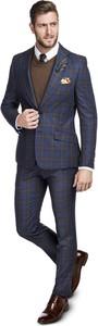 Niebieski garnitur Giacomo Conti