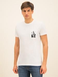T-shirt Calvin Klein z krótkim rękawem z nadrukiem