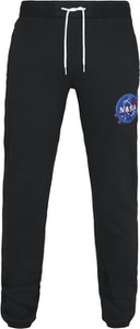 Czarne spodnie sportowe Urban Classics w sportowym stylu