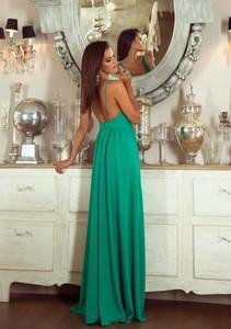 Zielona sukienka Emo Sukienki maxi