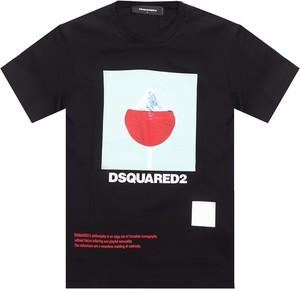 T-shirt Dsquared2 w młodzieżowym stylu
