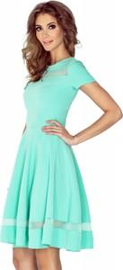 Miętowa sukienka MORIMIA mini