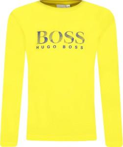 Koszulka dziecięca Hugo Boss z długim rękawem