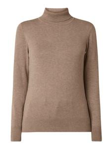 Brązowy sweter Montego w stylu casual