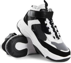 Sneakersy Calvin Klein sznurowane