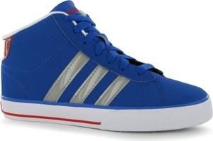 Granatowe trampki dziecięce Adidas