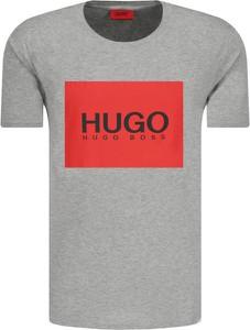 T-shirt Hugo Boss z krótkim rękawem w młodzieżowym stylu