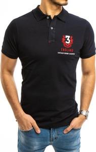 Czarny t-shirt Dstreet z bawełny