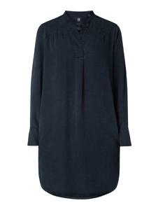 Granatowa sukienka G-Star Raw oversize z dekoltem w kształcie litery v mini