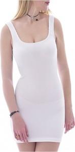 Sukienka Guess z okrągłym dekoltem mini