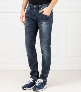 Niebieskie jeansy Pepe Jeans w stylu casual