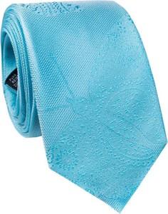 Błękitny krawat giacomo conti