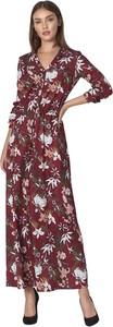 Sukienka Nife z długim rękawem maxi