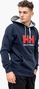 Granatowa bluza Helly Hansen z bawełny