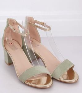 Sandały Buty Damskie z zamszu