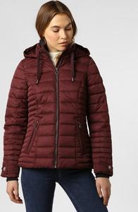 Czerwona kurtka Soquesto krótka w stylu casual