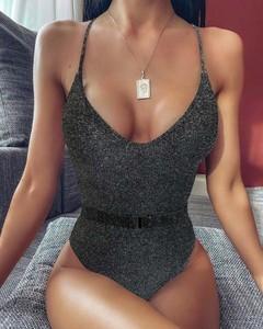Czarny strój kąpielowy Kendallme w stylu casual
