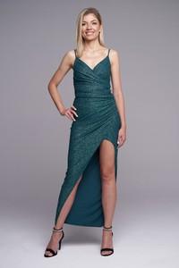 Zielona sukienka Ella Boutique na ramiączkach