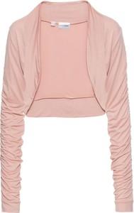 Różowa marynarka bonprix bodyflirt