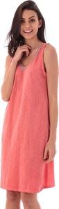 Sukienka Fille De Coton z dekoltem w kształcie litery v
