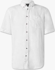 Koszula CANDA z lnu z długim rękawem