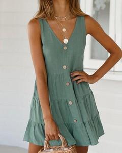 Sukienka Kendallme mini na ramiączkach w stylu casual