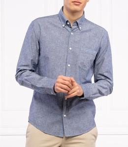 Niebieska koszula Hugo Boss w stylu casual