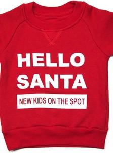 Czerwona bluza dziecięca New Kids On The Spot z bawełny