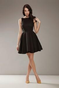Sukienka Nife mini z okrągłym dekoltem